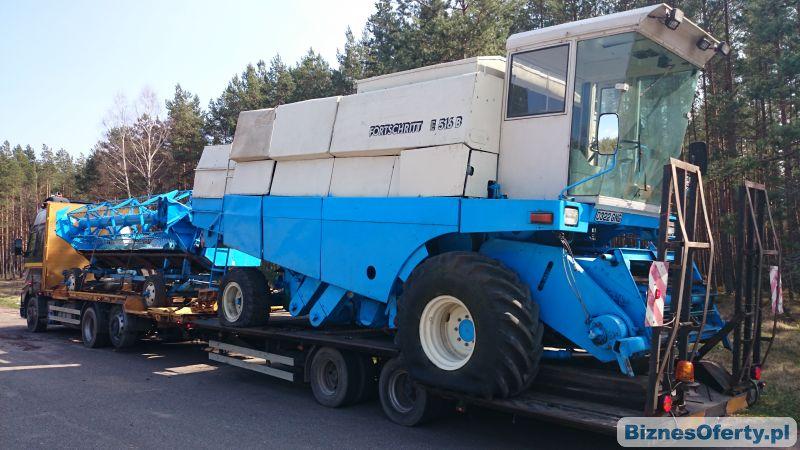 Poważne Transport maszyn rolniczych, kombajn, ciagnik, prasa, pług YA12