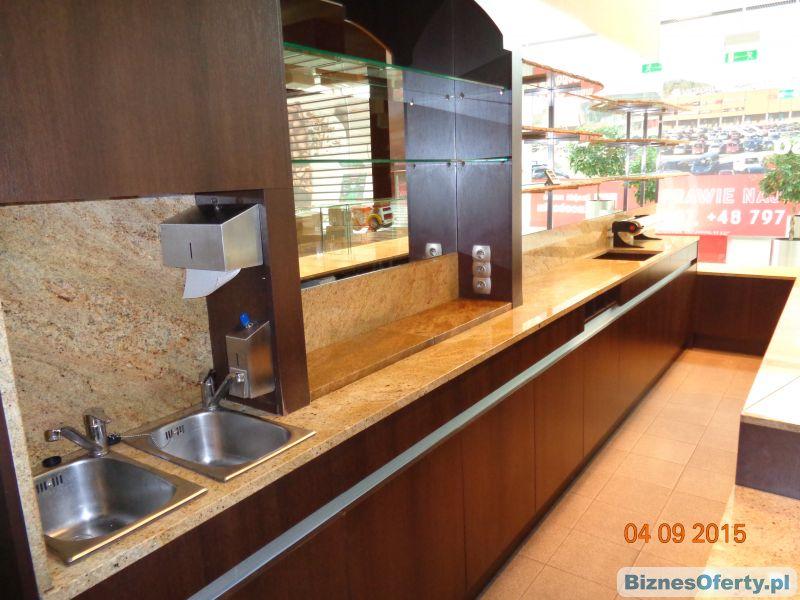 Rewelacyjny Meble do kawiarni 6.000 zł, Marmur, Wyposażenie sali i zaplecza HC66