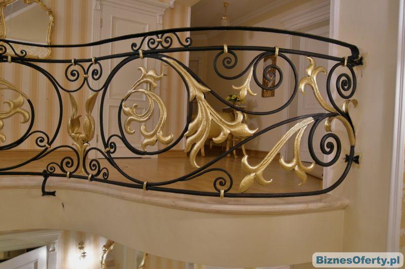 hand made lampy bramy balustrady meble ogrodowe kute