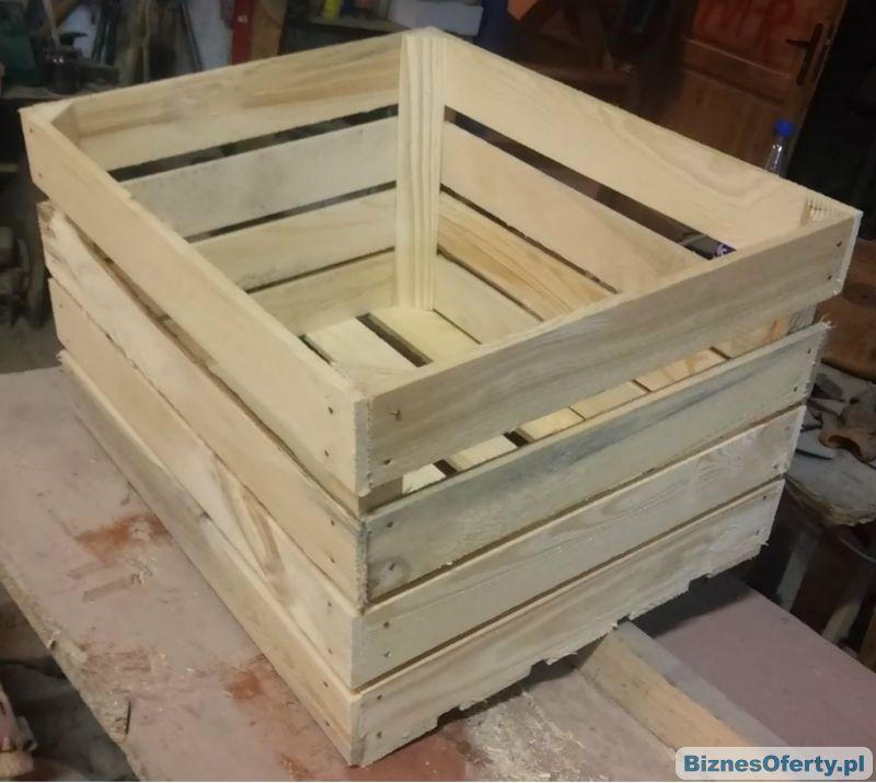Wszystkie nowe Skrzynka drewniana klatka na jabłka owoce skrzynki jedynki VH24