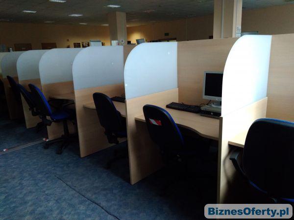 Tylko na zewnątrz Stanowiska biurowe, meble do biura 15 stanowisk - Biznes Oferty.pl VX69