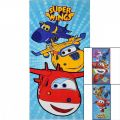 Ręcznik plażowy Super Wings 70x140 cm