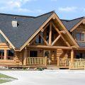 Domy z drewna z Ukrainy
