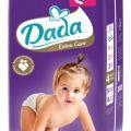 Pieluchy Dada - bardzo dobrej jakości
