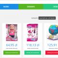 Sprzedam sklep internetowy z zabawkami dla dzieci w dropshippingu