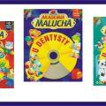 Książeczki dla dzieci - twarde karty, z płytą