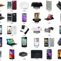 Telefony, Smartfony i akcesoria - Zestaw 54 produktów