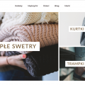 Sklep internetowy z odzieżą (afiliacja) + oprogramowanie