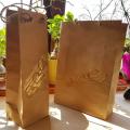 Ręcznie składana i zdobiona torebka papierowa prezentowa hand made