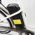 Rower elektryczny 26 miejski damski Łabędź Lit-Jon