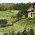 Góry Sowie funkcjonujący pensjonat - dom weselny, stawy rybne