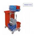 Wózek sprzątający zestaw 2x15L + 2x6L
