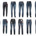 Spodnie jeans damskie Metersbonwe, Vabbi