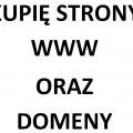 Kupię stronę internetową, sklep lub domenę www