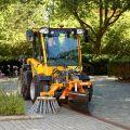 Odchwaszczarka, szczotka do traktora, na magazynie, Nesbo DK