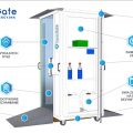 Kabina dezynfekcyjna CleanGate brama