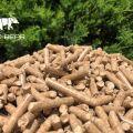 Sprzedaż pellety z drewna