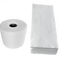 Ściereczki (czyściwo) włókninowe w roli oraz w arkuszach 1,5 kg
