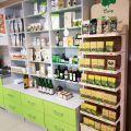 Meble do apteki, sklepu zielarskiego, ze zdrową żywnością, drogerii