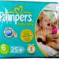 Pampers Baby-Dry pieluchy 25 sztuk