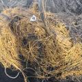 Złom kordu drutu z zużytych opon
