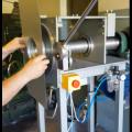Maszyna do rolowania połączeń króćców metalowych central