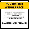Transport chłodniczy dystrybucja przedstawicielstwo Białystok