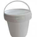 Wiaderko / wiadro plastikowe 1,2 litra - ATESTY PZH, BRC