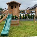 Domki dla dzieci architektura ogrodowa wszystko z drewna