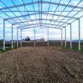 Konstrukcja stalowa hali 14x20 m, hala nowa z projektem magazyn obora
