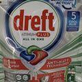 Dreft Platinum Plus 5 szt. Guick Wash