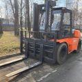 Wózek widłowy Doosan D90S - 9 ton