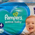 Kupię Pampers active baby