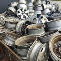 Złom - Oczyszczone Felgi Aluminiowe