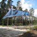 Sprzedam halę namiotową 540 m kw