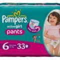 Pampers active pants girl rozmiar 6 (16 + kg)