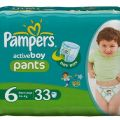 Pampers active pants boy rozmiar 6 (16 + kg)