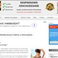 Oferta: Portal o odchudzaniu - zdrowie i uroda - bezobsługowy