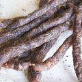 Jerky, biltong, droewors suszona wołowina