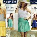 Spodnica 2 w 1 marki Esmara