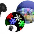 Projektor świąteczny laserowy kolorowe śnieżki
